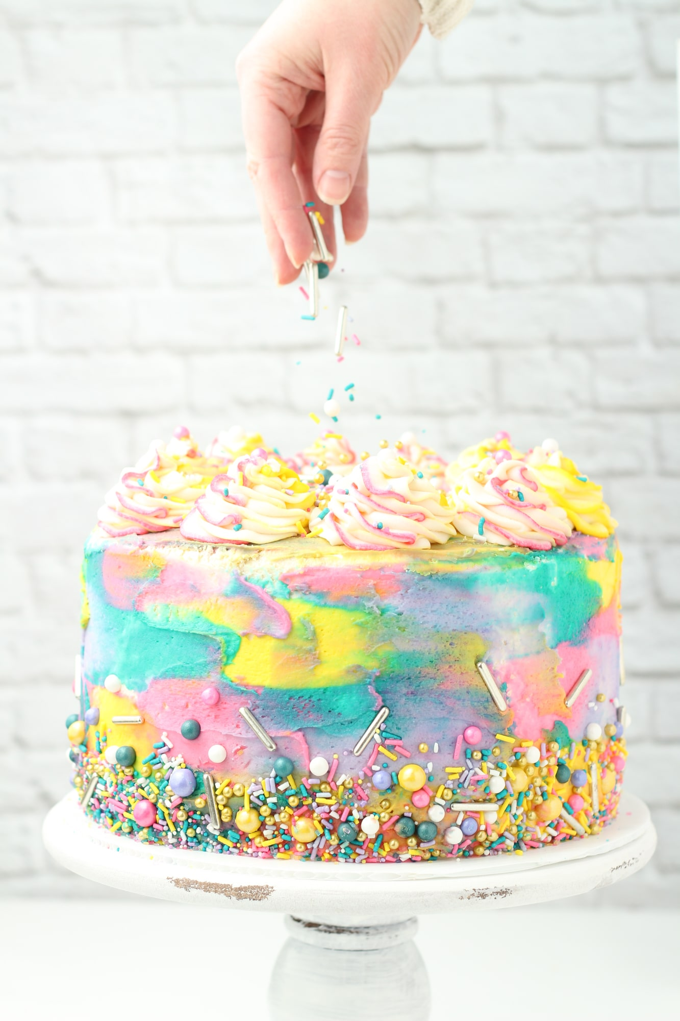 Pleasing Pink Lemonade Cake The Saucy Fig Funny Birthday Cards Online Drosicarndamsfinfo